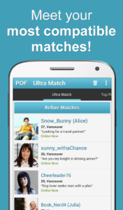 pof making contact 2
